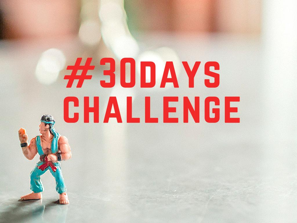 {Fitness} – #30dayschallenge