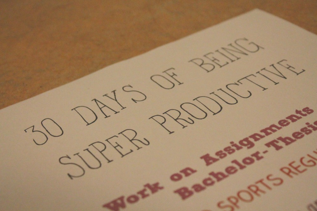 30daysproductive