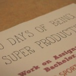 30 Days of Being Super Productive