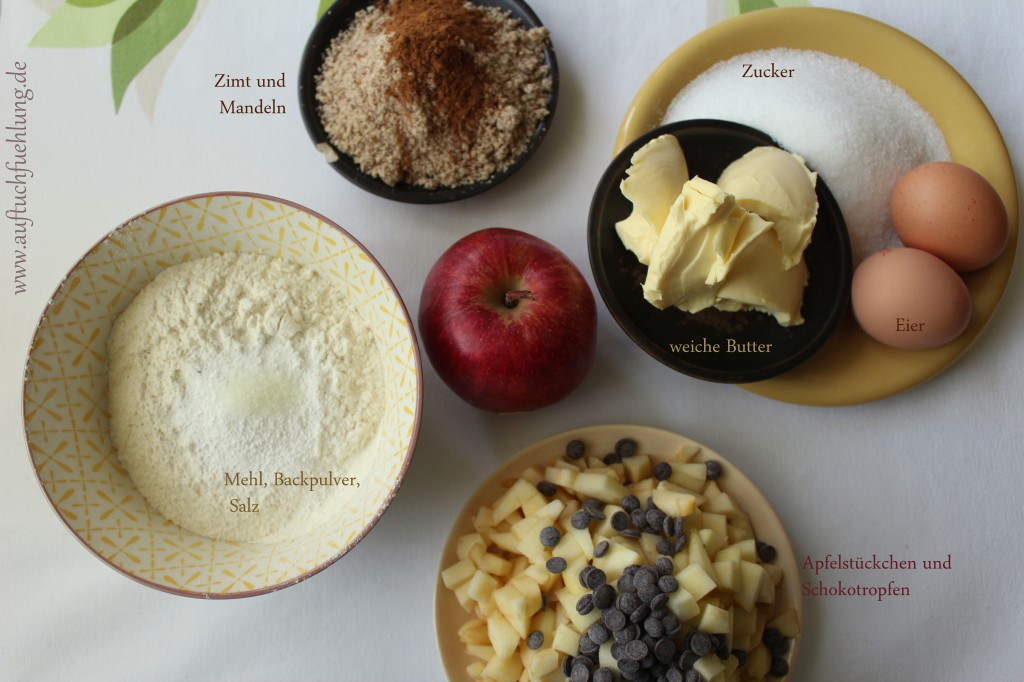 Apfel Muffins 1
