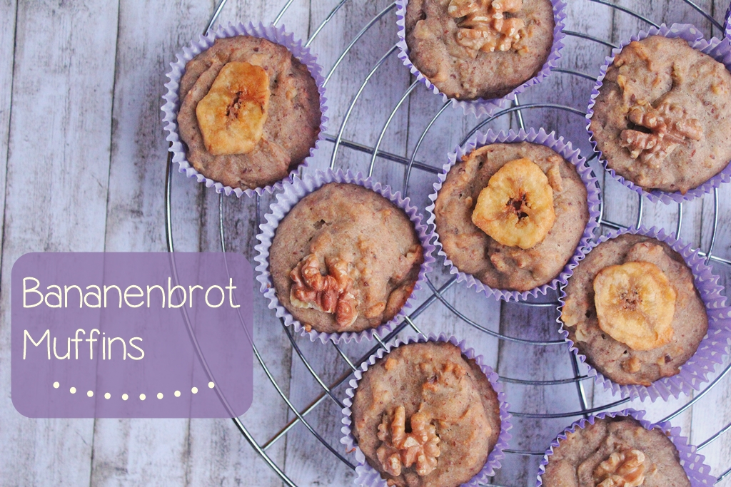 {Sweet Tuesday} Leckere Bananenbrot Muffins