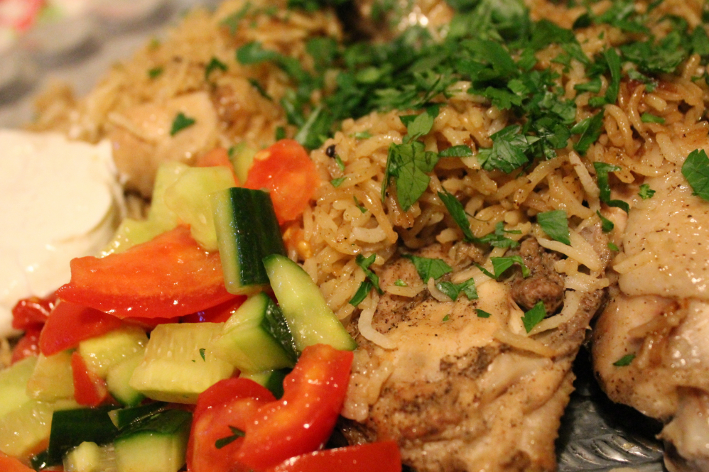 Hähnchen mit Kardamomreis von Reishunger