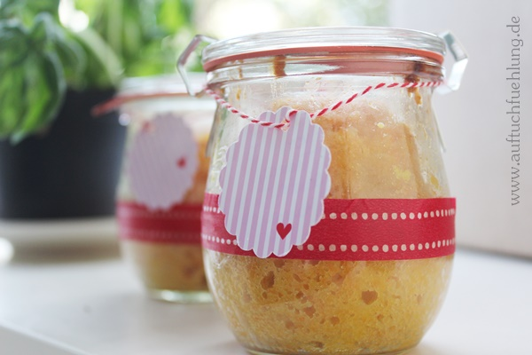 Karottenkuchen im Glas 1