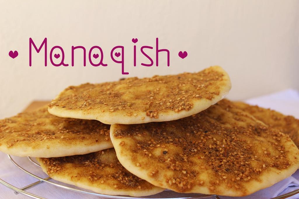 Schnelles Frühstück: Manaqish mit Zaatar