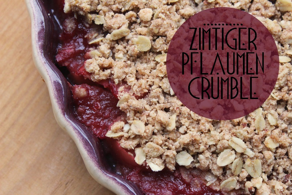 Soulfood: Fruchtiger Mandel – Zimt Crumble