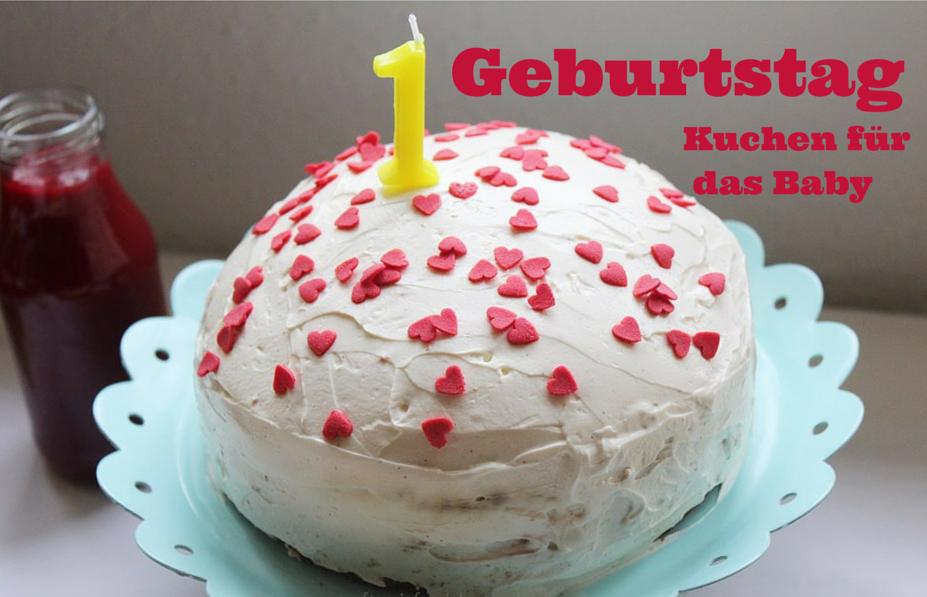 Momday Kuchen Zum Ersten Geburtstag Mit Dem Leckersten Joghurt