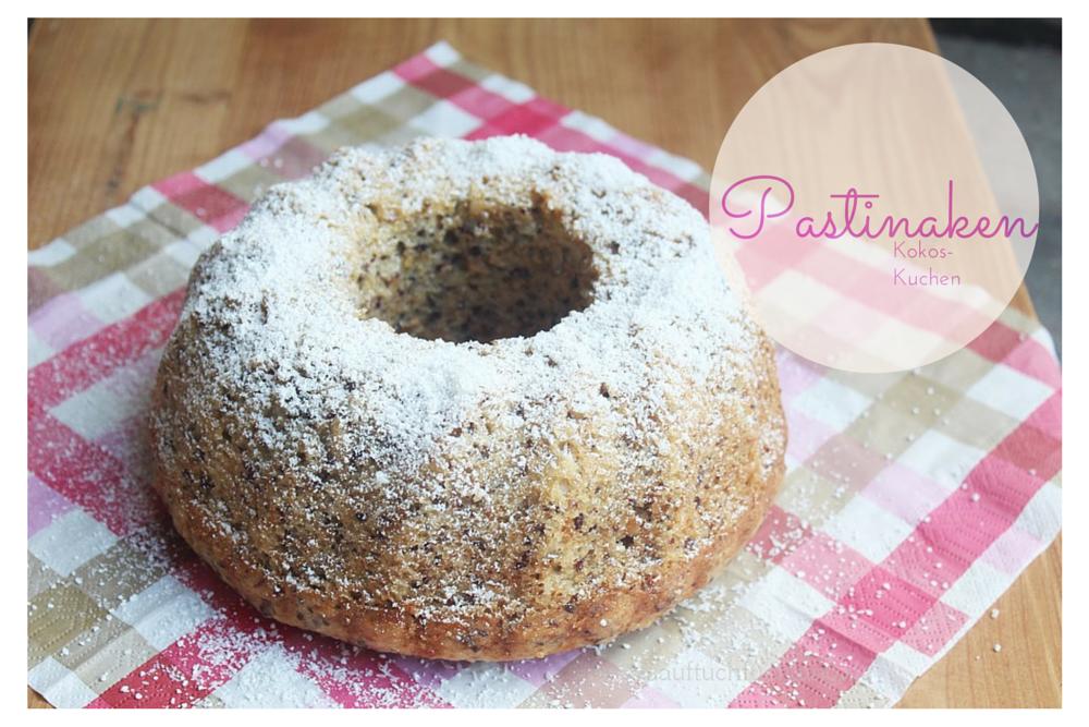 Super leckerer Kokos – Pastinakenkuchen