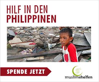 Notfallhilfe für die Philippinen
