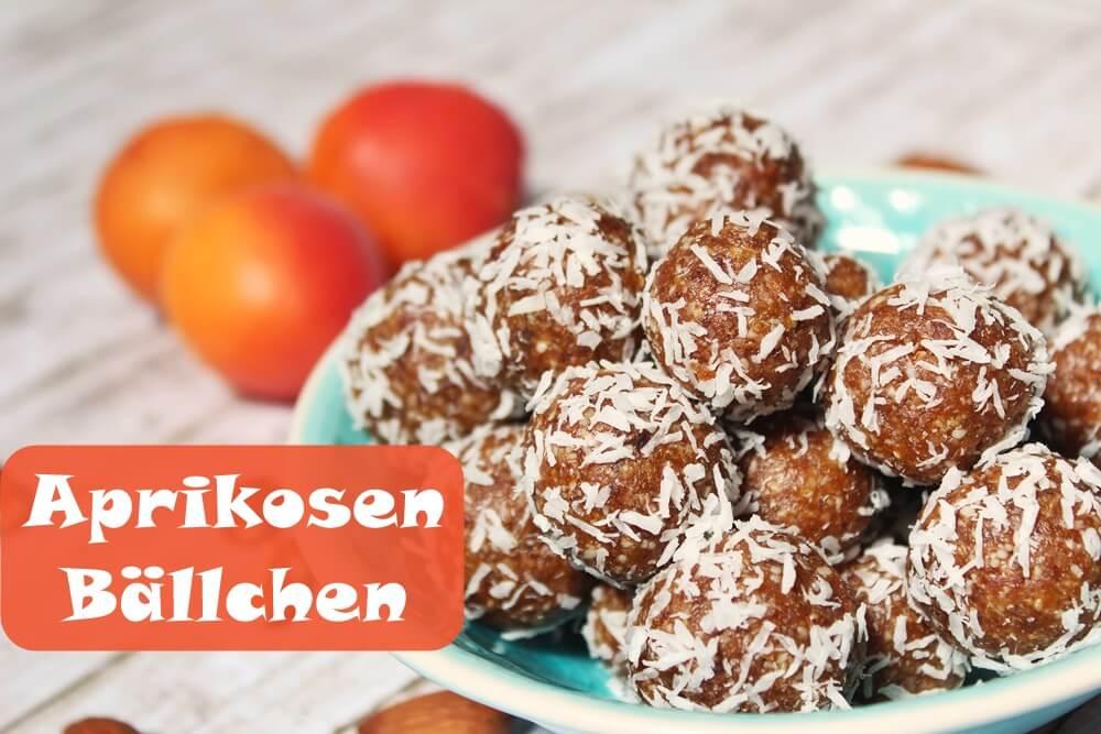 {Sweet Tuesday} Sommerliche Aprikosen Bällchen