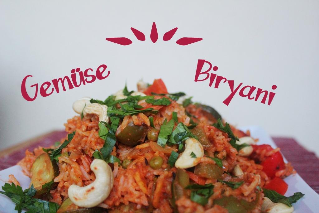 Reis mal anders: Vegetarisches Gemüse Biryani