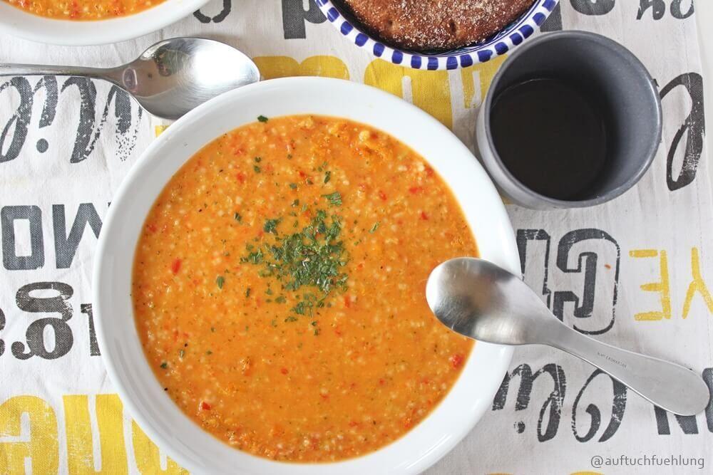 Leckere Gemüsesuppe für kleine und große Suppenkasper