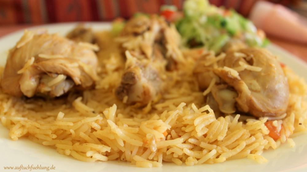 Kabsa – auf tuchfühlung mit Reishunger