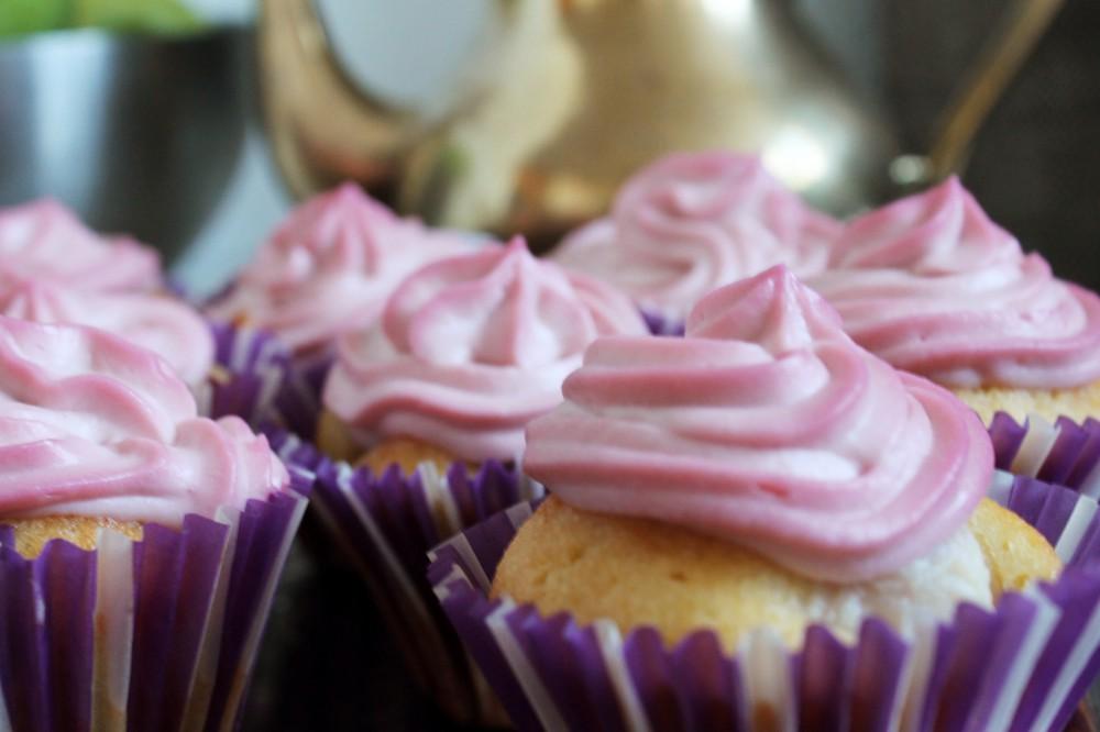 Fruity Cupcakes! Litschi und Himbeere