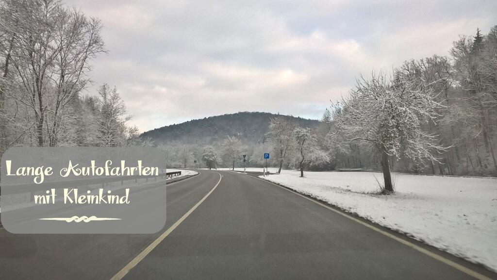 {Momday} Lange Autofahrten mit Kleinkind