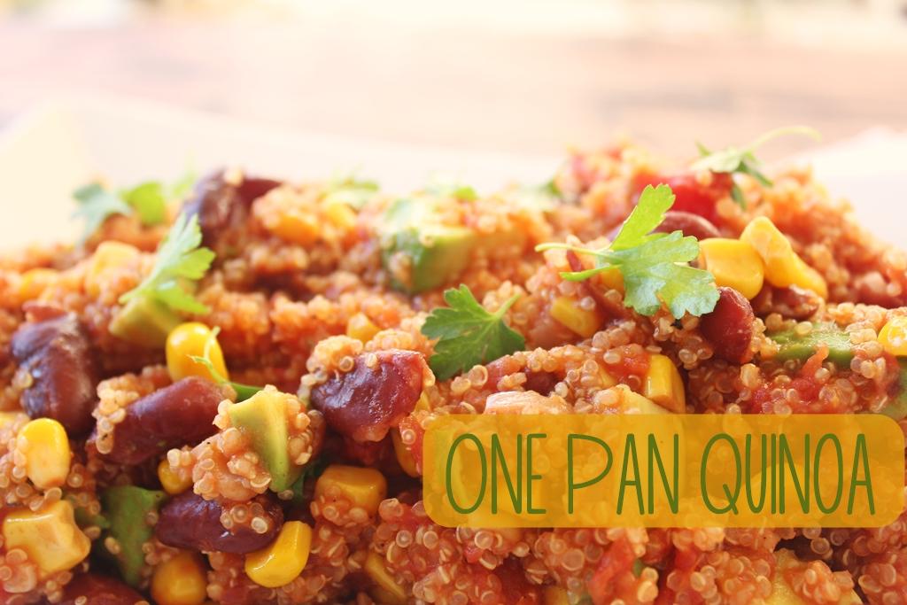 Schnell und lecker: Mexikanische One Pan Quinoa
