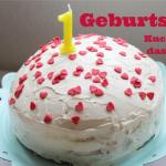 {Momday} - Kuchen zum ersten Geburtstag - mit dem leckersten Joghurt Frosting