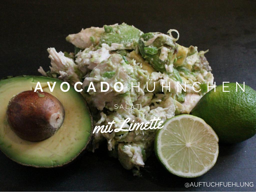 Hähnchen-Avocado-Salat