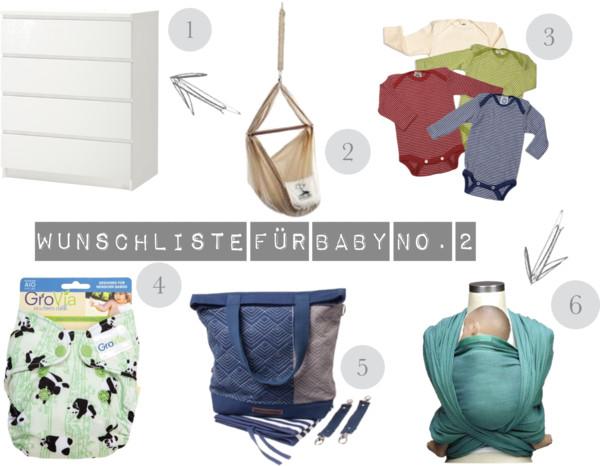 {Momday} – Wunschliste für Baby Nr. 2