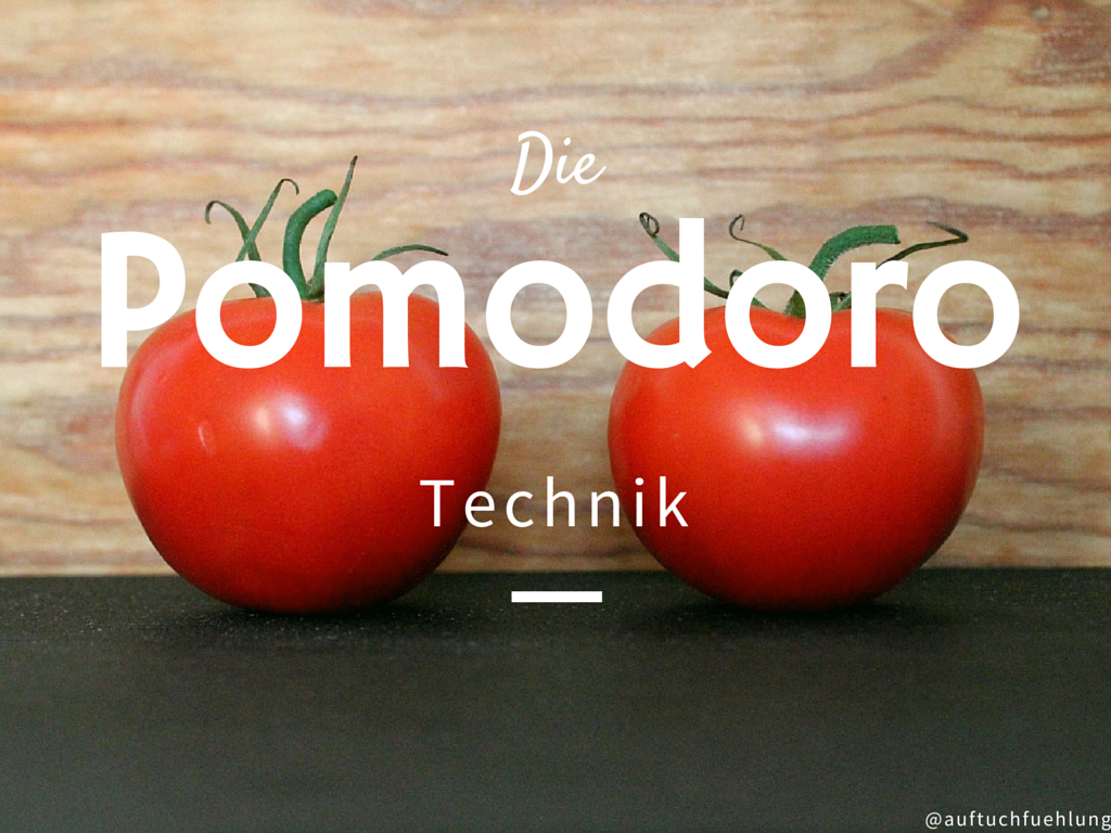 {Getting Things Done} – Pomodoro Technik