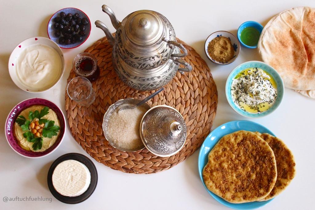 Syrisches Frühstück – Vielfalt am Morgen